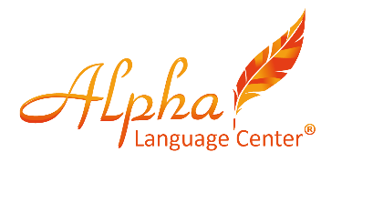 Alpha Language Center logo